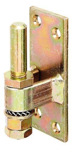 GAH-Alberts 311131 Kloben zum Anschrauben, verstellbar, galvanisch gelb verzinkt, Ø13 mm, 100 x 40 mm