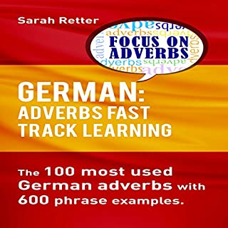 German: Adverbs Fast Track Learning audiobook cover art