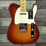 Fender 75th Anniversary Commemorative Telecaster Electric Guitar, Maple Fingerboard, 2-Color Bourbon Burst