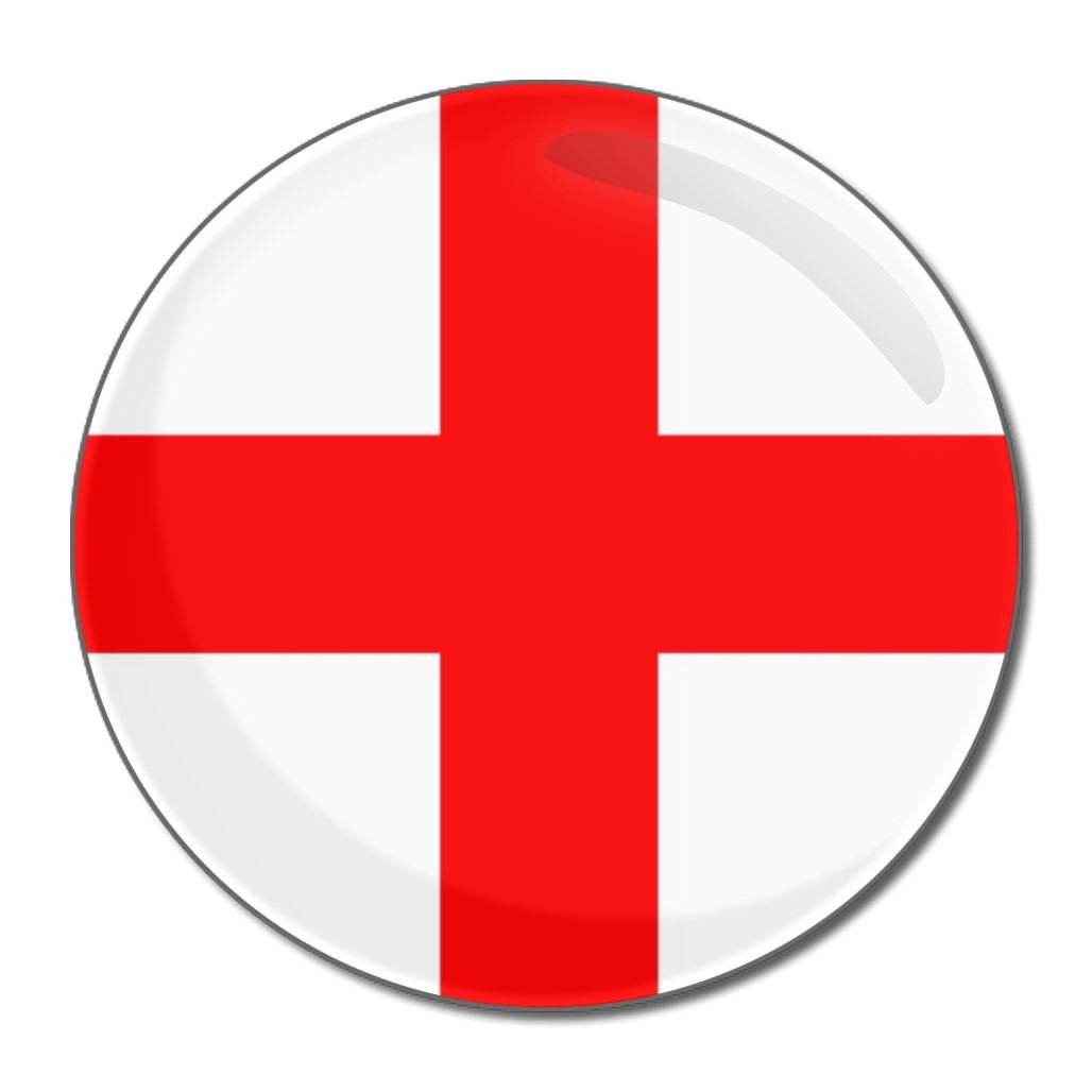 Amazon.com: England Flag - 55mm Round Compact Mirror: Beauty