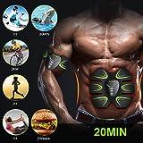 Zoom IMG-2 hoposo elettrostimolatore per addominali muscolare