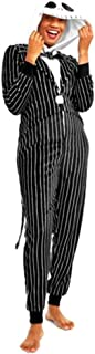 Jack Skellington Adult Women's Sizes Unionsuits