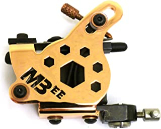 Micky Bee Professional Tattoo Machine Coil Copper Honey Color Shader 10 Wrap Coils
