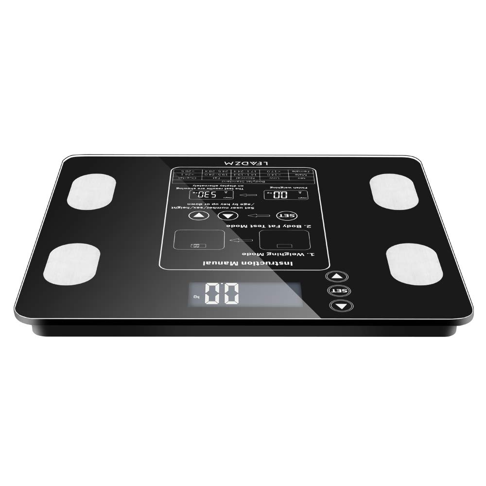 AW938 180kg 100g Digital Body Fat Trust Analyser Health Musc Sale special price Scale