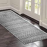 SOSTUDIO Carpet Runner Rug Soft Hallway Runner Non Slip and Washable, Soft Touch Runner Rug for Living Room/Kitchen/Hallway/Bedroom/Corridor - Starlight Over Desert(60x180cm)