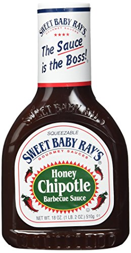 Sweet Baby Ray's Honey Chipotle Barbecue Sauce 510g