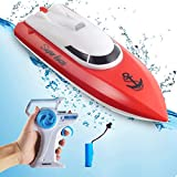 Remote Control Boats for Pools and Lakes,12+ mph High Speed RC Boat