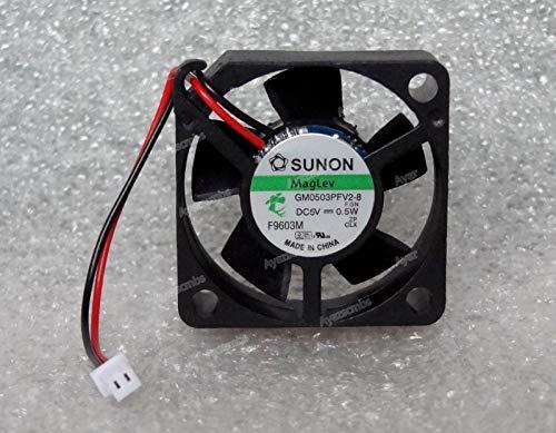 Ayazscmbs Kühler Lüfter kompatibe für Sunon 30mm x 10mm MagLev Lüfter 5V DC Mini 2 Pin Molex Picoblade GM0503PFV2-8