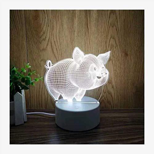 Nachtlampje Mooi cadeaulamp 3D tafellamp stereo cadeau-idee tieners meisjes nachtlampje