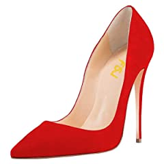 52d48b75eae FSJ Women Pointed Toe Pumps - Casual Women's Shoes