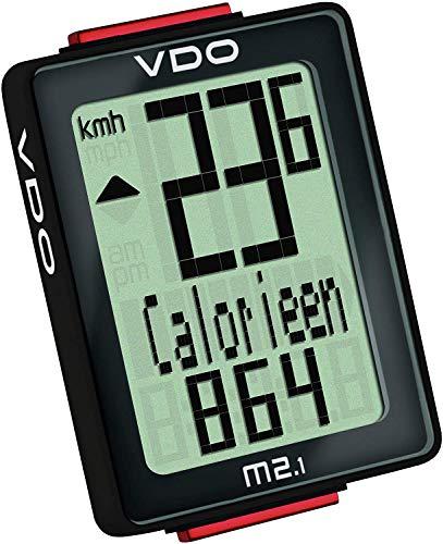 Wetterladen Analoger-Funk-Fahrradcomputer Biketacho VDO M2.1WL