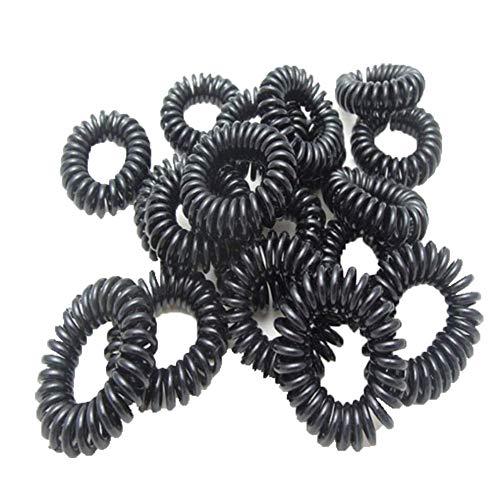 Lot de 100 Elastiques Cheveux à Nœud cheveux Chouchou Pour queue de cheval En tissu Accessoires Tresse Enfant Fille