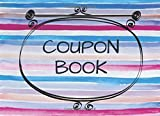 Coupon Book: 10 Empty Vouchers Inside - Small Blank Coupon Book - Unique & Practical Present for Friend or Family Member - Perfect Alternative to Present Card