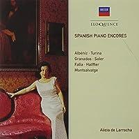 Spanish Piano Encores by Alicia de Larrocha