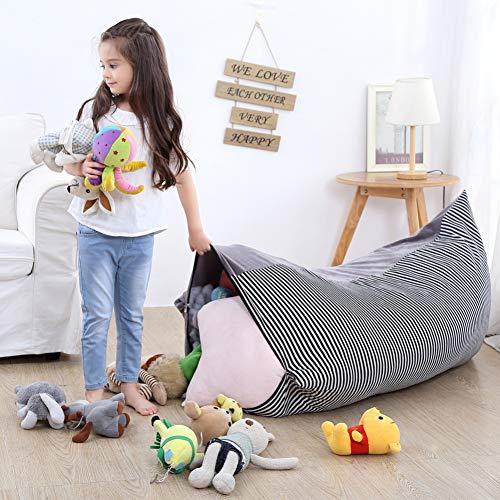 YHLVE Spielzeug-Aufbewahrungstasche, Stofftier-Organizer/weicher und bequemer Bezug, der eine gemütliche Liege schafft.