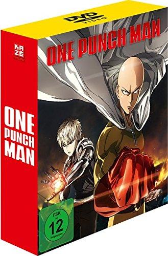 ONE-PUNCH MAN - Staffel 1 - Vol.1 - [DVD] mit Sammelschuber [Limited Edition]