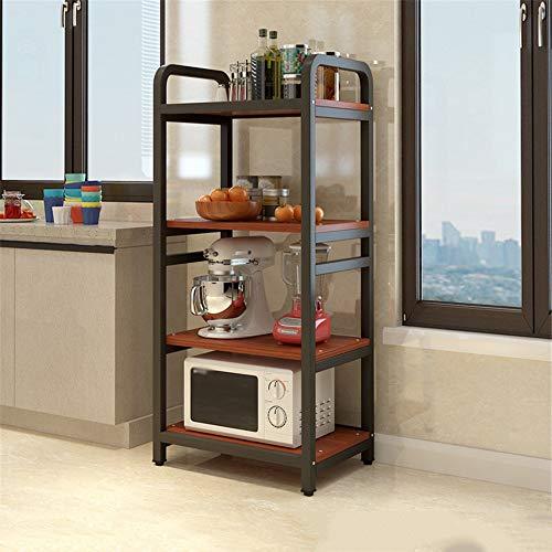 Rejilla de Horno de Microondas Cocina estante del horno microondas estante de múltiples capas de la cocina rack de almacenamiento parrilla del horno macetas de rejilla 40x60cm rack Estante de Microond
