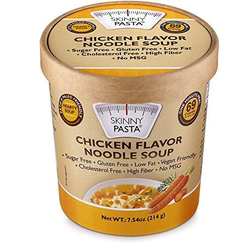 Skinny Pasta Healthy Noodle Soup Chicken Flavor   Ultra-Low...