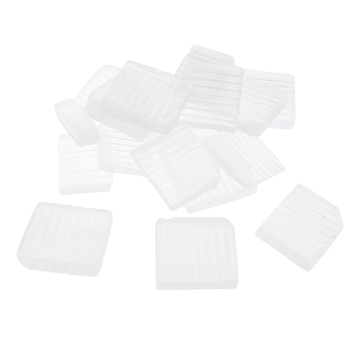 しかし昇るアルファベットSharplace 透明 石鹸ベース DIY 手作り 石鹸 約1 KG