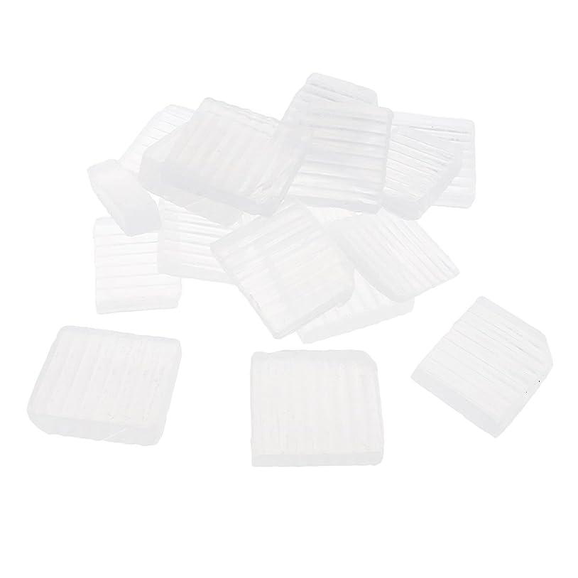 土生きるピラミッドSharplace 透明 石鹸ベース DIY 手作り 石鹸 約1 KG
