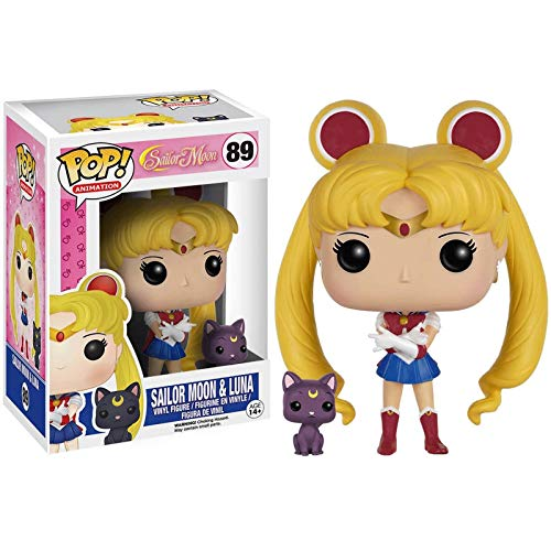 KYYT Funko Sailor Moon #89 Sailor Moon & Luna Pop! Chibi