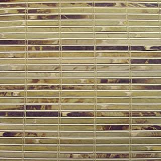 Cordless Woven Wood Roman Shades, 68W x 60H, Winthrop Tortoise, Any Size 20-72 Wide and 24-72 High