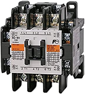 Fuji Electric, 3NC0T0222/SE, Sc-N1/SE Odyssey Series Super Magnet Non-Reversing Contactor, 200-250 VAC 50/60HZ 200-240VDC Coil, 2NO-2NC