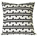 SLOW COW Cotton Embroidery Decorative Throw Pillow Covers, Cushion Covers Throw Pillows 18x18 Inches.