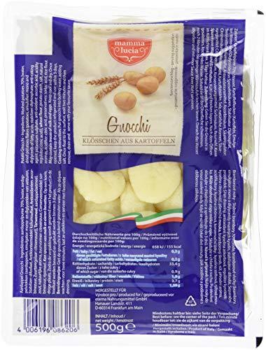 mamma lucia Gnocchi - Kartoffelklößchen, 12er Pack (12 x 500 g)