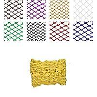 子供ペットの安全転倒防止ロープネット保護ネットバルコニー階段アンチフォールネットカラー装飾ネットトランポリン池庭ナイロンネット(5cm×6mm) (Size : 1*4)