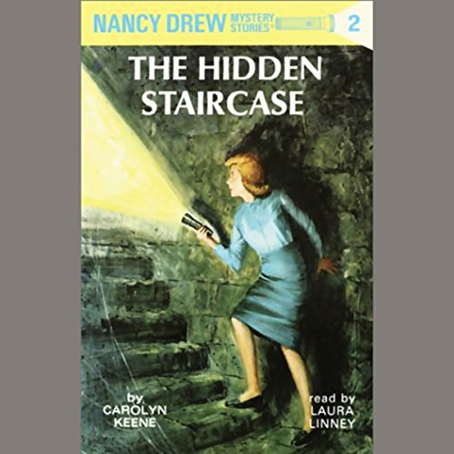 The Hidden Staircase audiobook cover art