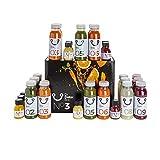 DrDetox Box Dieta de Desintoxicación 3 Dias - 27 Zumos Extractos frios, Purificadores, Adelgazantes, Drenantes, manual incluydo