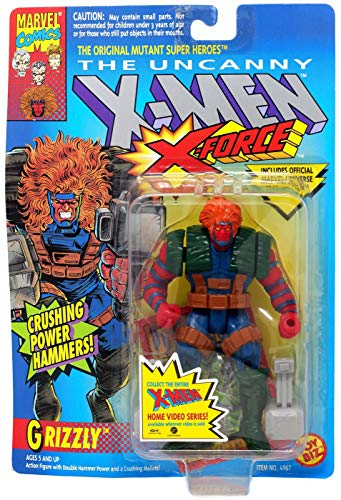 X-Men: X-Force > Grizzly Action Figure