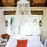 Mosquitera para Cama, Mosquitera Universal para Cama, Dosel de Cama, Mosquito Net, Protección antimosquitos Mosquitera para cama individual doble,Mosquiteras Viaje para Camas Fácil de Instalación