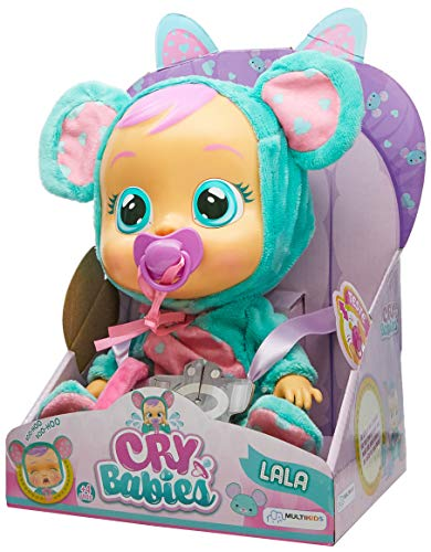 Cry Babies Lala Infantil Multikids Azul/Rosa