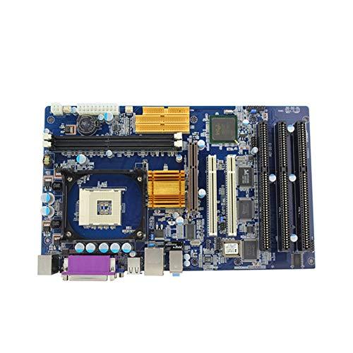 CHIPSET KH-845 CHIPSET ATX 478 Socket DDR2 Placa Base con Procesador Pentium 4 / Celeron Y RAM DDR 512M