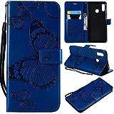 nancencen Compatible avec Huawei P30 Lite/Nova 4e Coque, Flip Étui Housse Case- Conception avec...