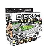 Bionic Steel 304 Stainless Steel Metal Garden Hose 25FT - Lightweight, Kink-Free,