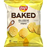 Baked Lay's Potato Chips, 0.875oz Bags (40 Pack)