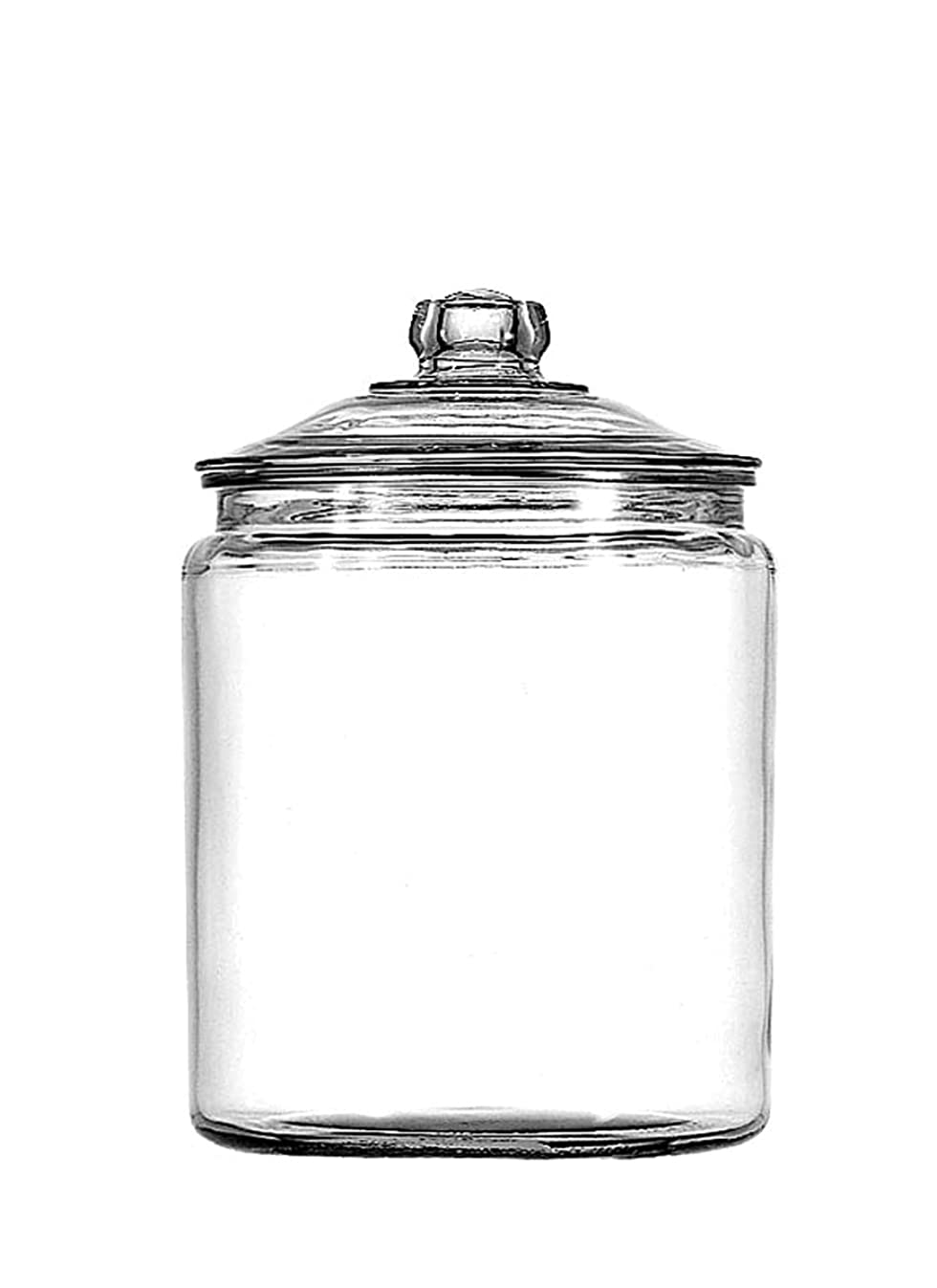 Anchor Hocking Heritage Hill Glass 0.5 Gallon Storage Jar, Set of 1
