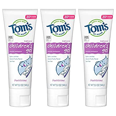Tom's of Maine Children's Toothpaste, Kids Toothpaste, Natural Toothpaste