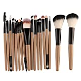 Pro Makeup Brushes Full Set 6/15/18Pcs Cosmetic Powder Eye Shadow Foundation Blush Blending Make Up Brush Maquiagem Beauty Tool