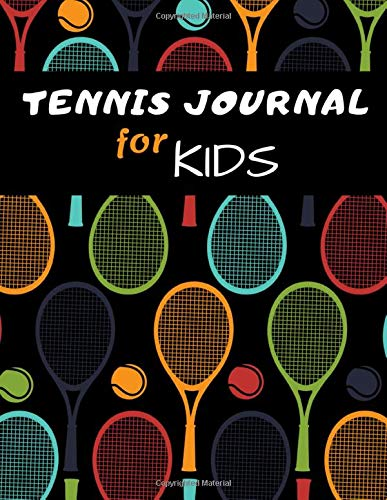 Tennis Journal For Kids Special Edition: Composition Book, Lined Notebook For Kids