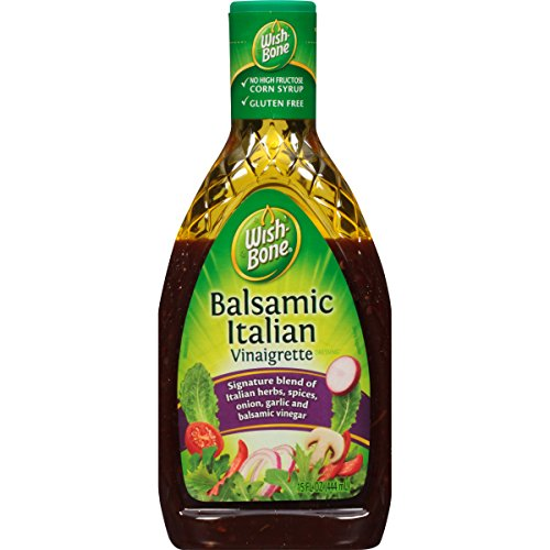 Wish-Bone Salad Dressing, Balsamic Italian Vinaigrette, 15 Ounce