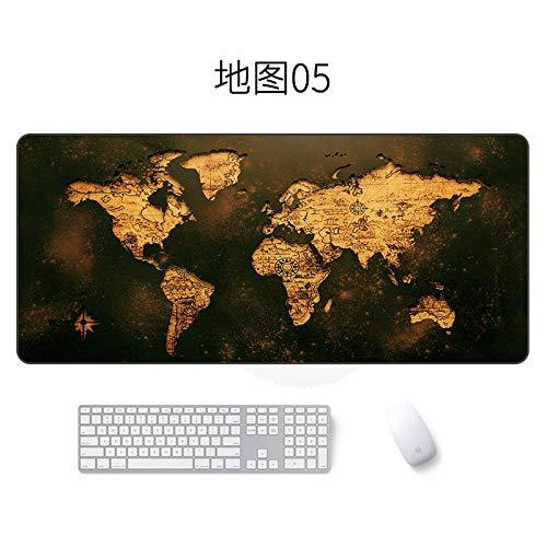 Kartenmausunterlage große wasserdichte Mausunterlagenkarte 05 300 * 700 * 3mm
