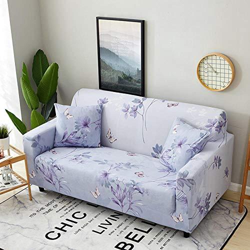 Allenger 1 Protector elástico para Muebles,Funda de sofá con Estampado elástico, Funda de sofá con Todo Incluido, Protector de sofá-A7_145-185cm