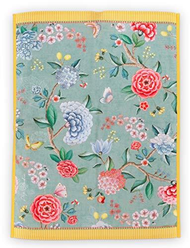 Pip Studio Blushing Birds Geschirrtuch Light Blue 50 x 70 cm
