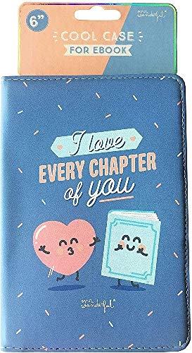 Mr. Wonderful MREBK004 - Funda de Ebook de 6' Azul Every Chapter