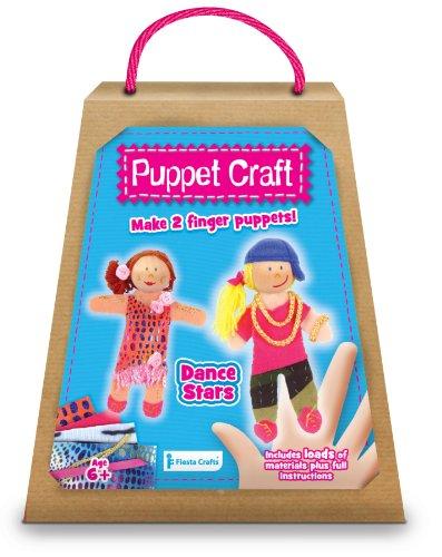 Fiesta Crafts T-2589 Marionnettes à Doigts Motif étoiles