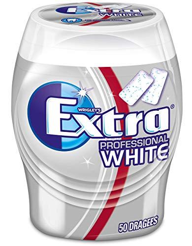 Extra Kaugummi | Professional White | Zuckerfrei | Eine Dose (1 x 50 Dragees)